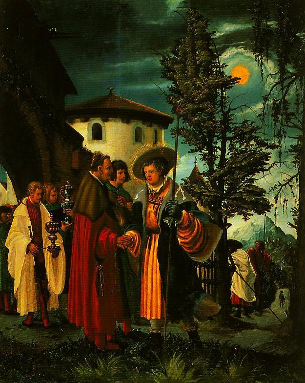 The Departure of St Florian | Albrecht Altdorfer | Oil Painting