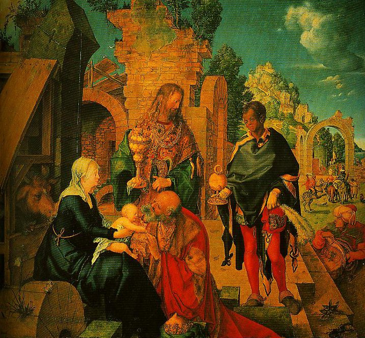 The Adoration of the Magi | Albrech Durer | Oil Painting