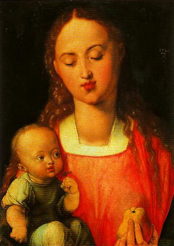 Madonna of the Pear | Albrech Durer | Oil Painting