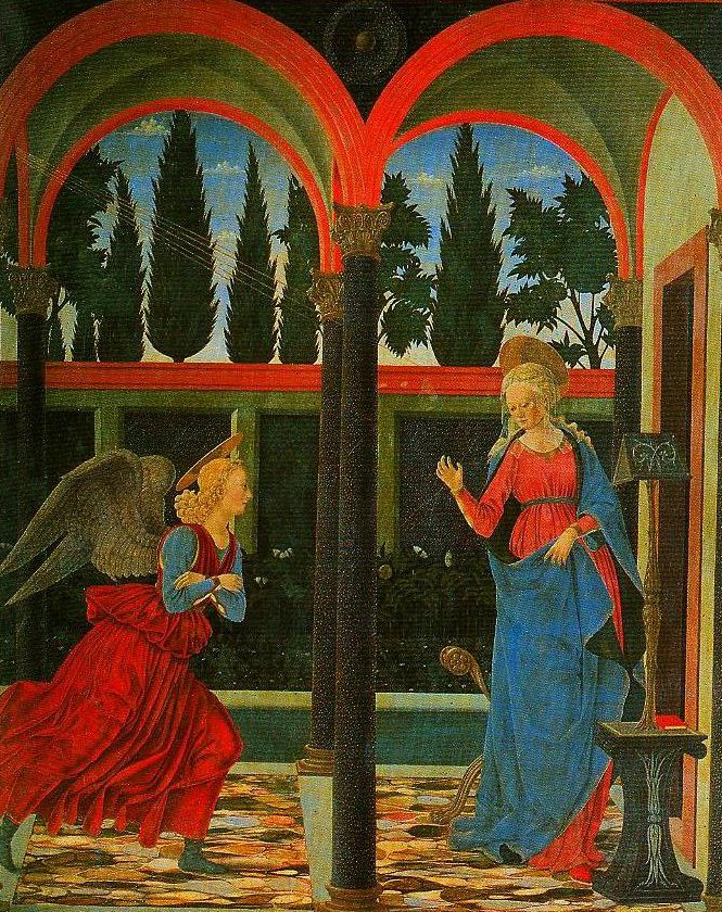 The Annunciation | Alesso Baldovinetti | Oil Painting