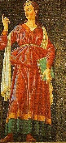 The Cumaean Sibyl   Andrea Del Castagno   Oil Painting