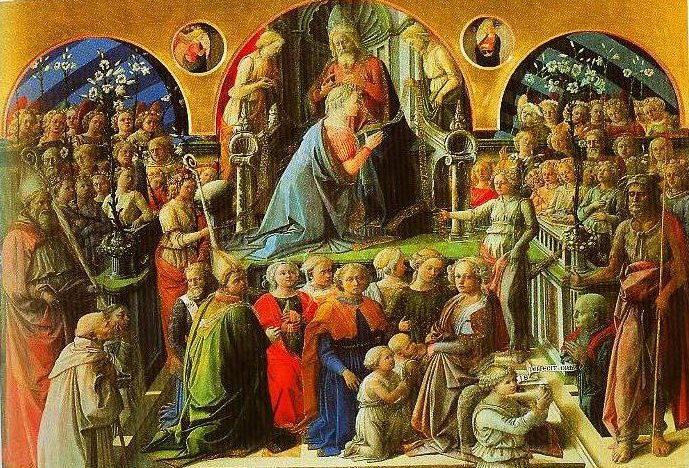 The Cornation of the Virgin | Filippo Lippi | Oil Painting