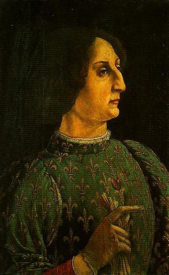 Portrait of Galeazzo Maria Sforza | Piero Pollaiolo | Oil Painting