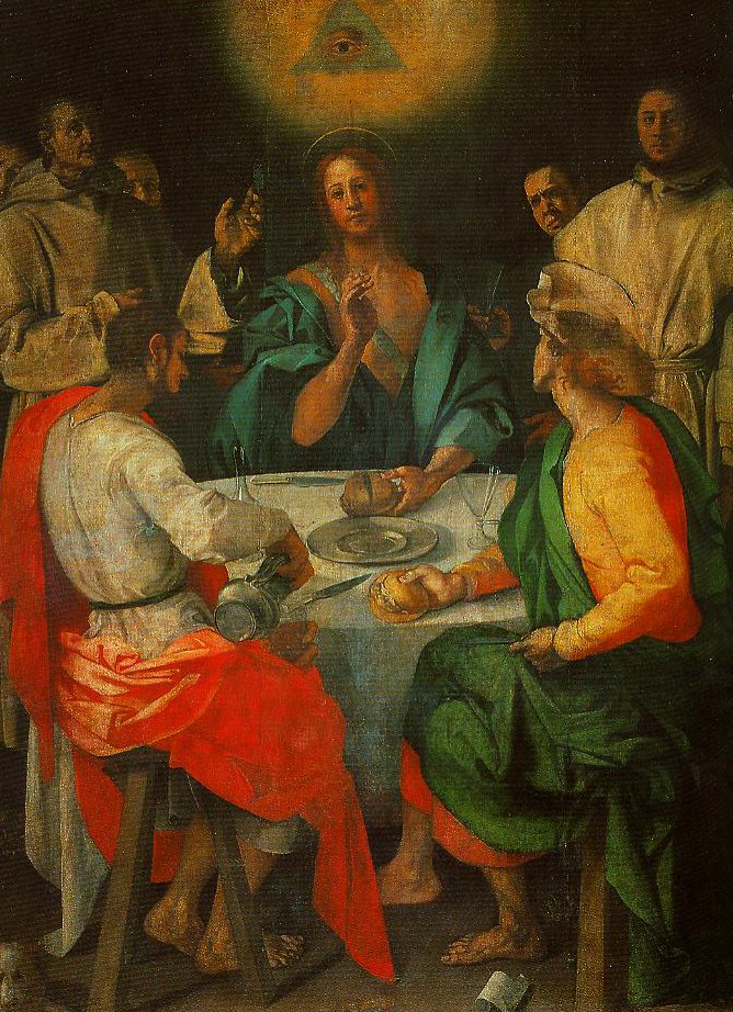 The Supper at Emmaus | Pontormo | Oil Painting