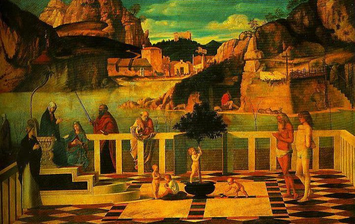Sacred Allegory | Giovanni Bellini | Oil Painting
