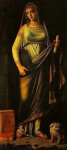 Sibyl | Benedetto Diana | Oil Painting