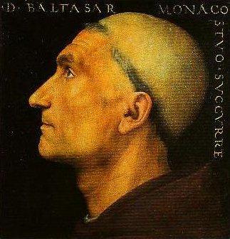Portrait of Baldassare Vallombrosano | Peruglno | Oil Painting