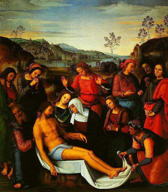 The Lamentation over the Dead Christ | Peruglno | Oil Painting
