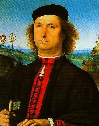 Portrait of Francesco delle Opere | Peruglno | Oil Painting