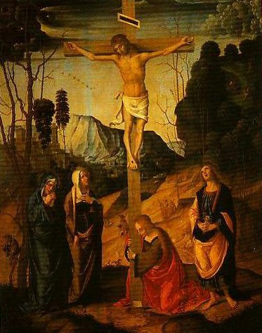 The Crucifixion | Marco Palmezzano | Oil Painting