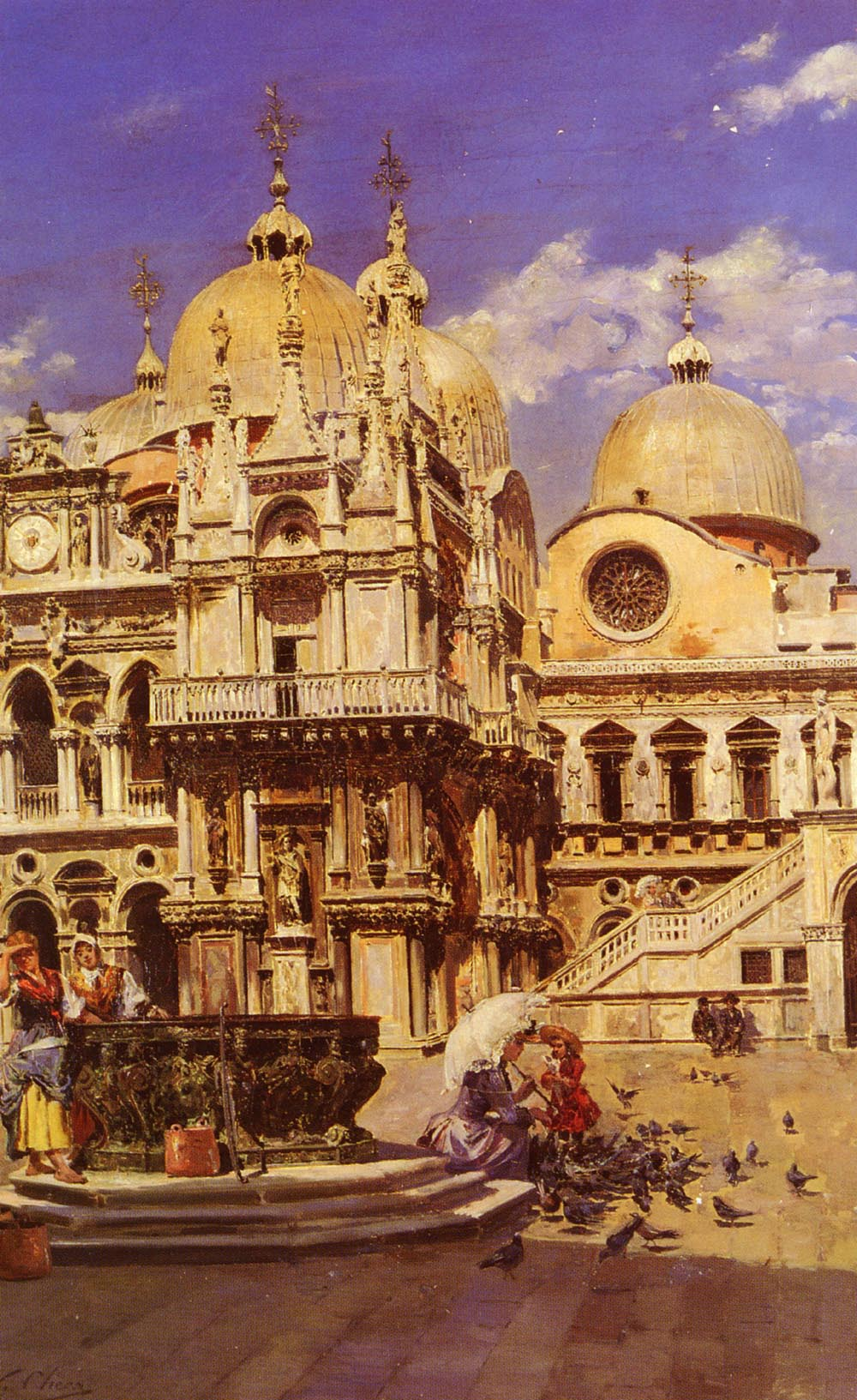 Piazza San Marco | Ulpiano Checa Y Sanz | Oil Painting