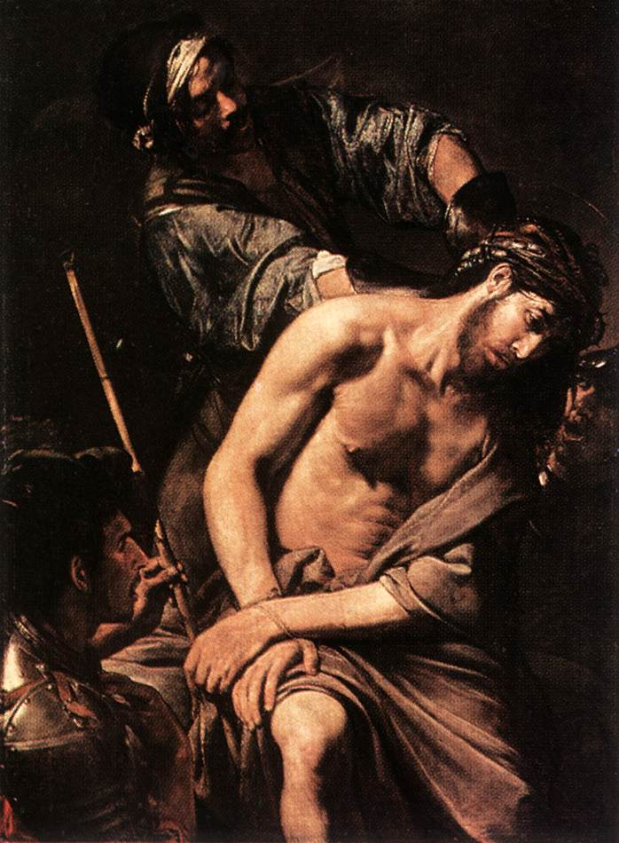 Crowning With Thorns | Valentin De Boulogne | oil painting