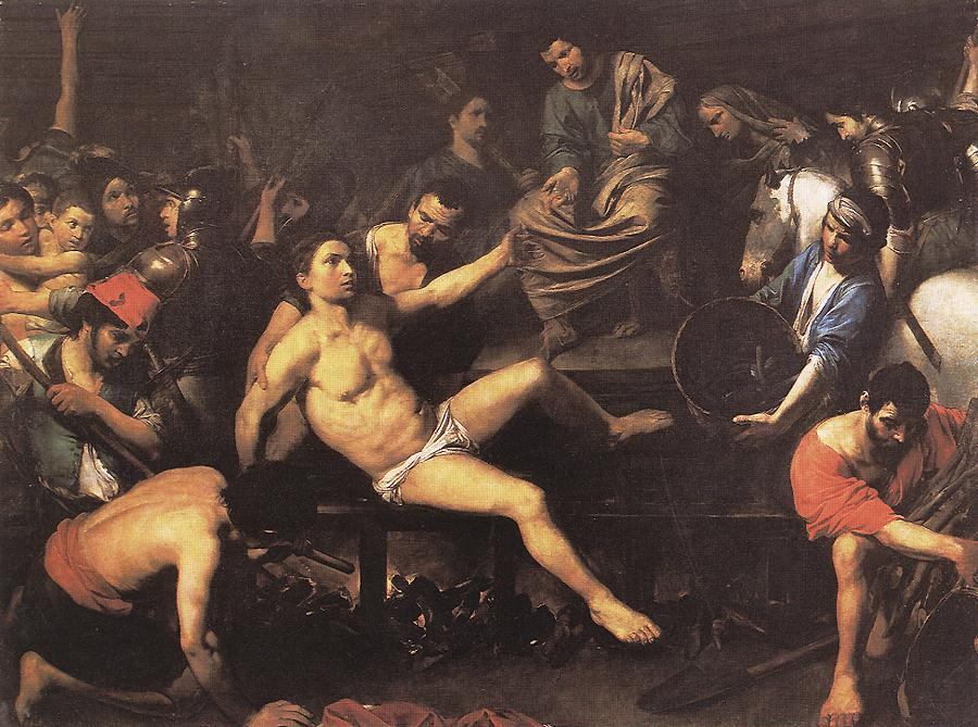 Judith And Holofernes 1626 | Valentin De Boulogne | oil painting