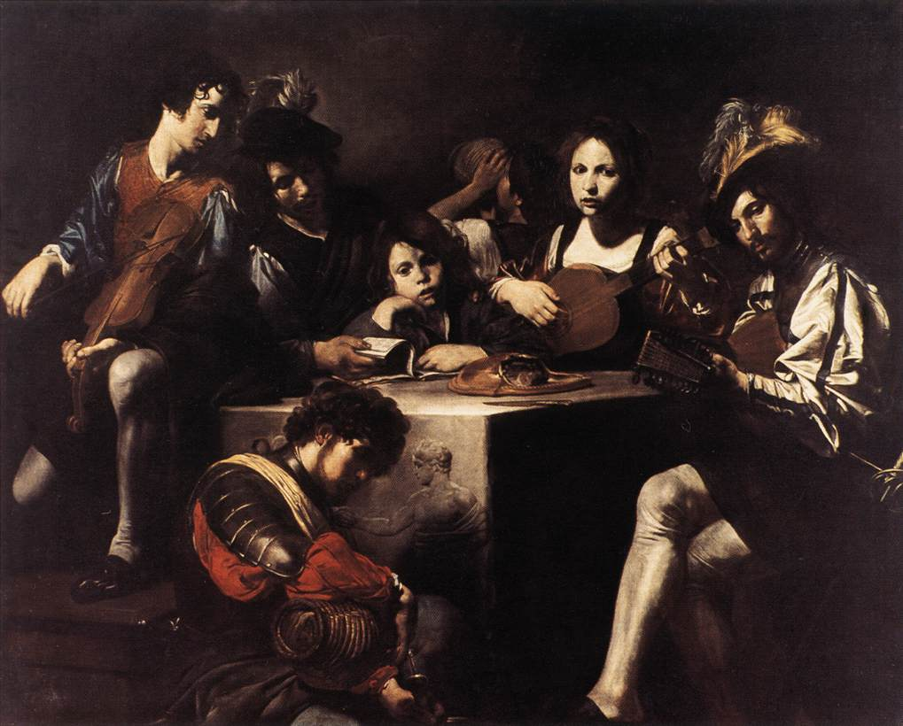 The Concert1622-25 | Valentin De Boulogne | oil painting