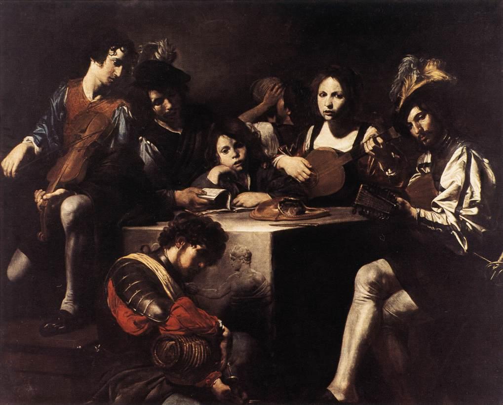The Concert1622-25 | Valentin De Boulogne | oil painting