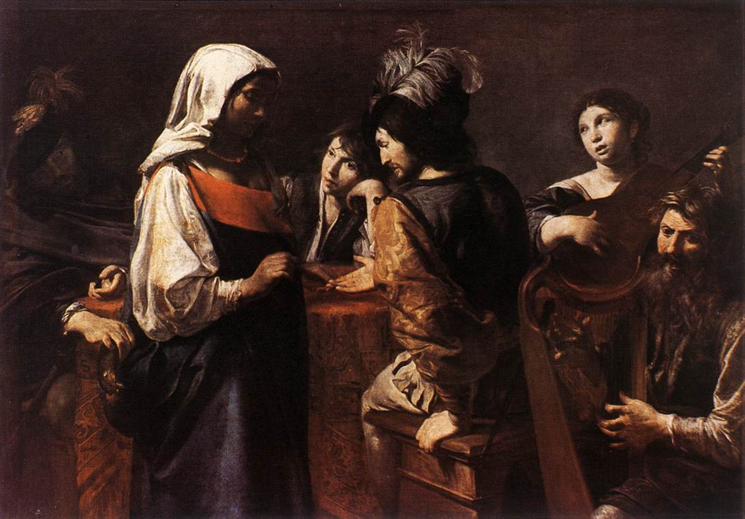 The Fortune Teller 1628 | Valentin De Boulogne | oil painting
