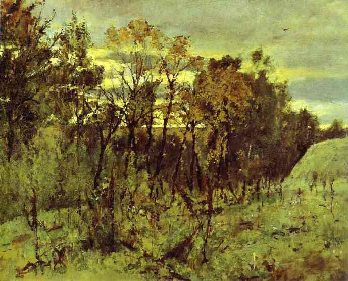 Autumn Evening Domotcanovo 1886 | Valentin Serov | oil painting