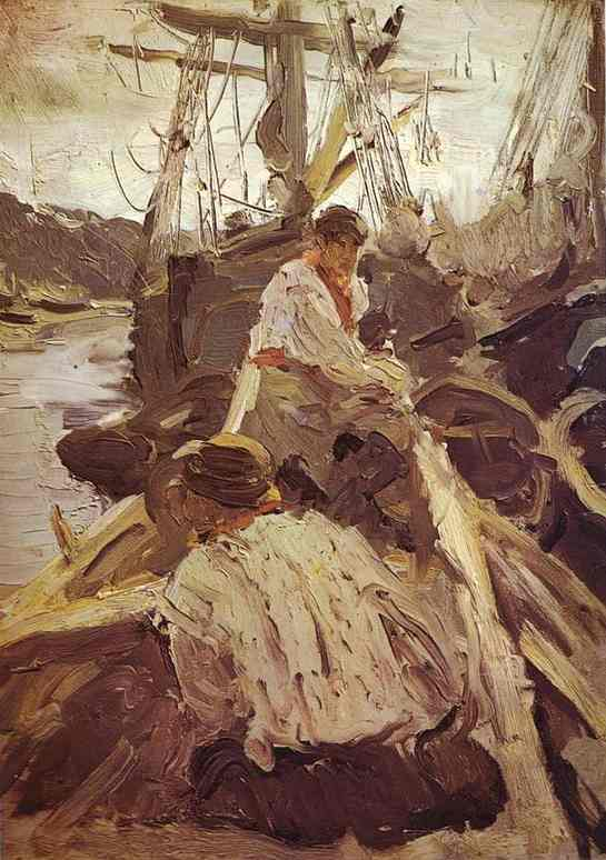 Pomors 1894 | Valentin Serov | oil painting