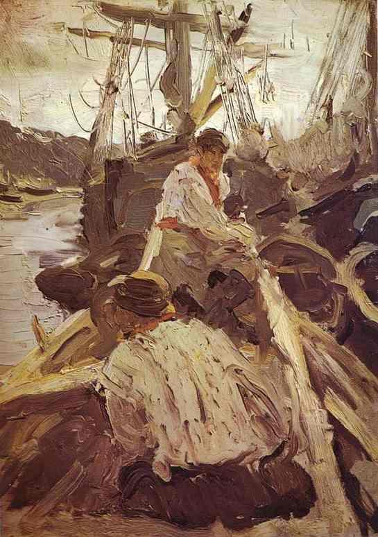 Pomors 1894 | Valentin Serov | oil painting