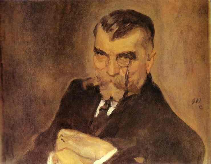 Portrait Of Alexei Stakhovich 1911 | Valentin Serov | oil painting