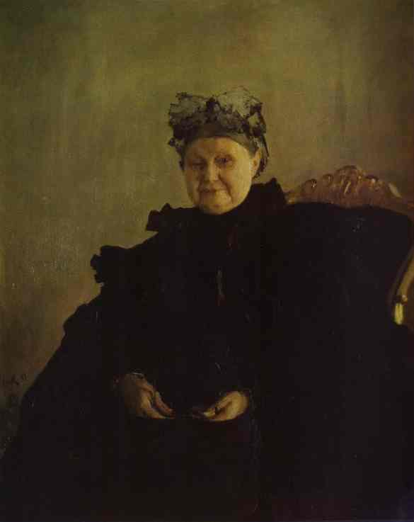 Portrait Of Maria Morozova 1897 | Valentin Serov | oil painting