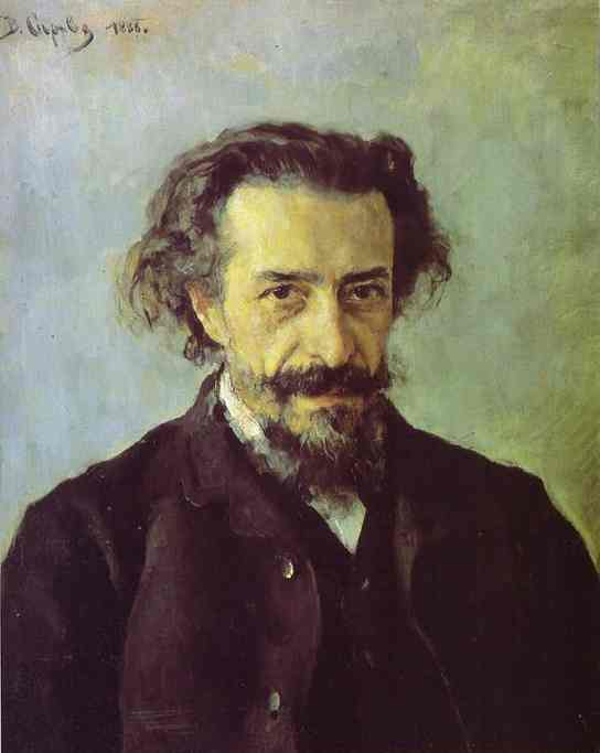 Portrait Of The Composer Pave Blaramberg 1888 | Valentin Serov | oil painting