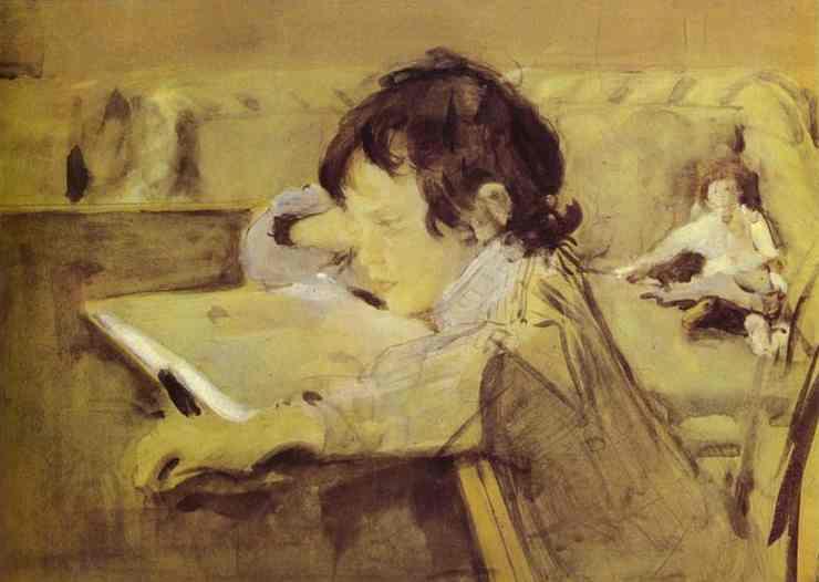 Sasha Serov 1897 | Valentin Serov | oil painting