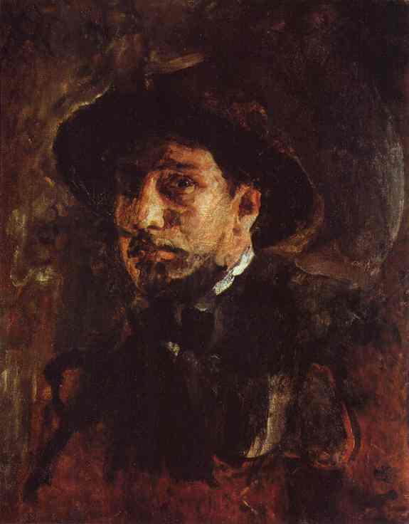 Self Portrait 1885 | Valentin Serov | oil painting