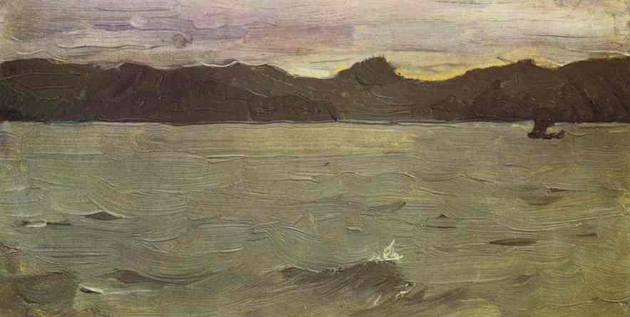 The White Sea 1894   Valentin Serov   oil painting