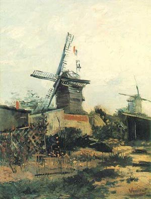 The Blute Fin Moulin 1886 | Vincent Van Gogh | oil painting