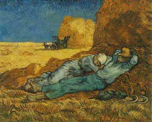 The Afternoon Siesta 1889 | Vincent Van Gogh | oil painting