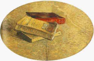 Still Life With Three Books 1887 | Vincent Van Gogh | oil painting