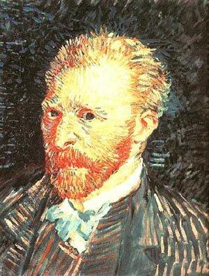 Self Portrait 1887 | Vincent Van Gogh | oil painting