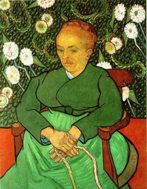 Woman Rocking A Craddle 1889 | Vincent Van Gogh | oil painting