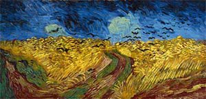 Wheat Field With Crows 1890 | Vincent Van Gogh | oil painting