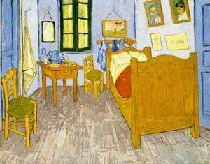 The Vincents Bedroom 1889   Vincent Van Gogh   oil painting