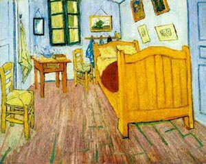 The Vicents Bedroom 1888   Vincent Van Gogh   oil painting