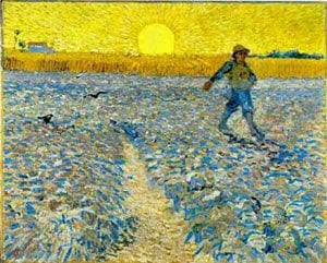 The Sower 1888 | Vincent Van Gogh | oil painting