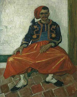 The Seated Zouave 1888 | Vincent Van Gogh | oil painting