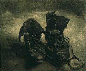A Pair Of Shoes 1 1886 | Vincent Van Gogh | oil painting