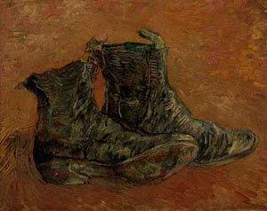 A Pair Of Shoes 1886 | Vincent Van Gogh | oil painting