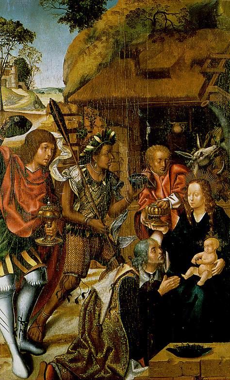 Adoration Of The Magi 1501-06 | Vasco Fernandes | oil painting