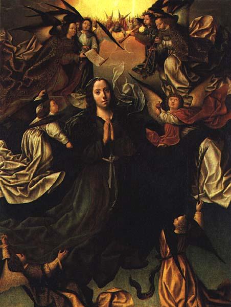 Assumption Of The Virgin 1506 | Vasco Fernandes | oil painting