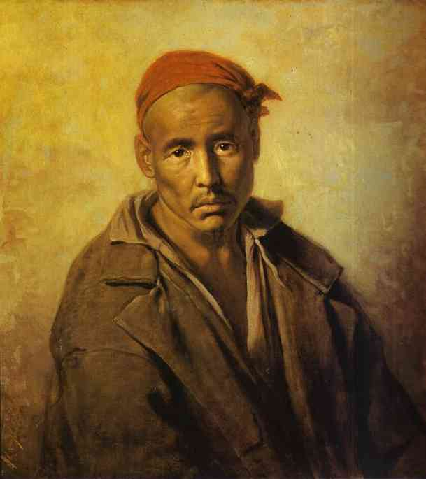 Head Of A Kirghiz Convict 1873 | Vasily Perov | oil painting