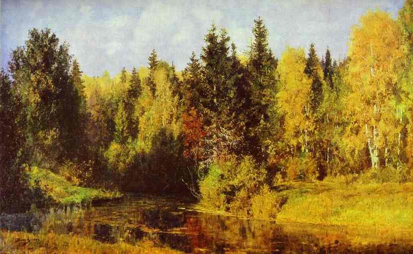 Autumn In Abramtzevo 1896 | Vasily Polenov | oil painting