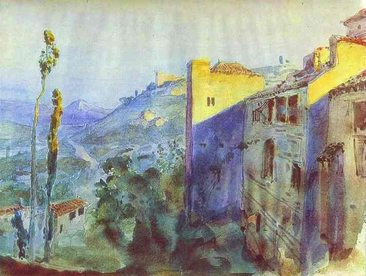 Cordoba Sketch For The Scenery 1883 | Vasily Polenov | oil painting
