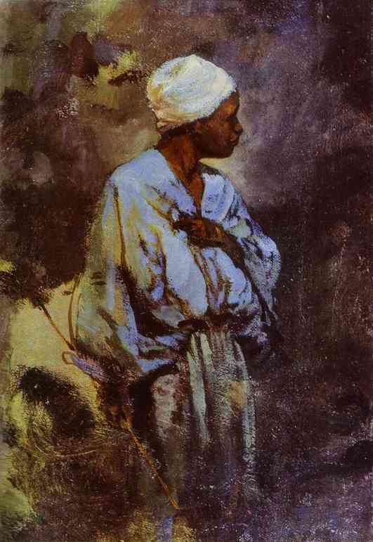 Dunkey Driver In Cairo 1882 | Vasily Polenov | oil painting