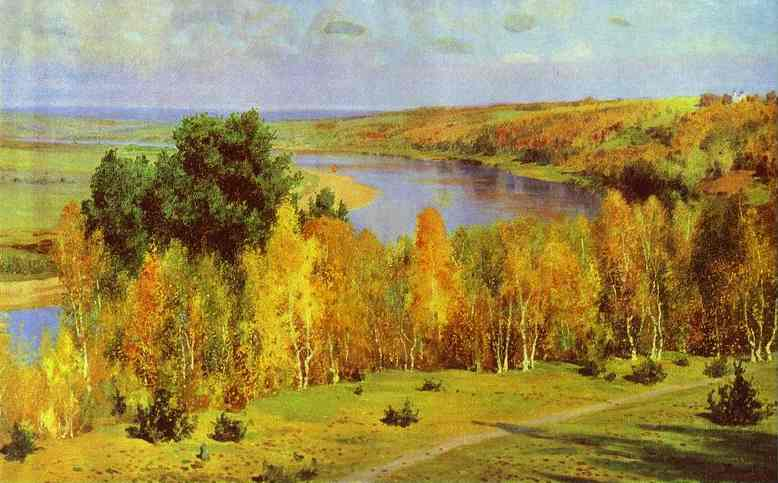 Golden Autumn 1893 | Vasily Polenov | oil painting