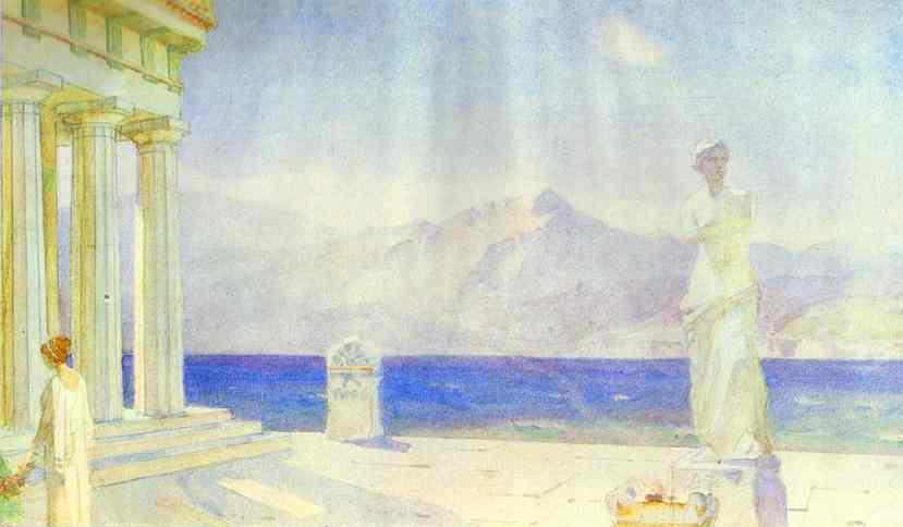 Landscape Study 1900s | Vasily Polenov | oil painting