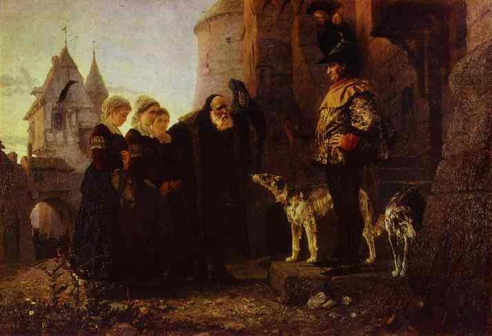 Le Droit Du Seigneur 1874 | Vasily Polenov | oil painting
